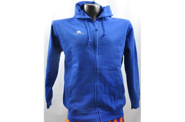 Pullover With Hood Blue