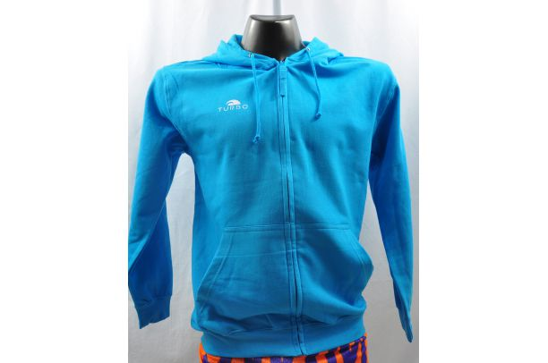 Pullover With Hood Blue Sky