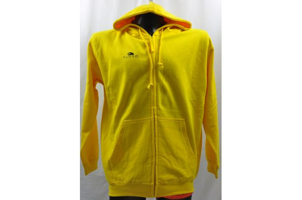 Sweat Zippé Jaune