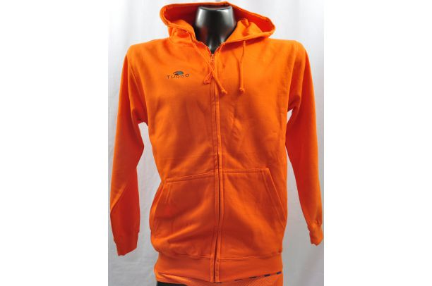 Pull à Capuche Orange