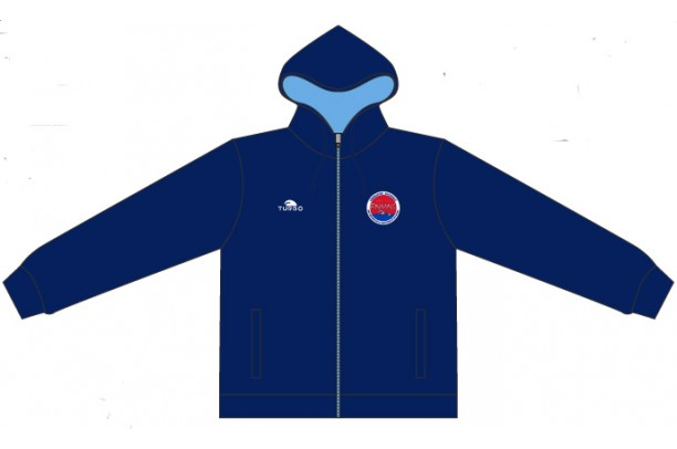 Pullover With Hood Royal Blue