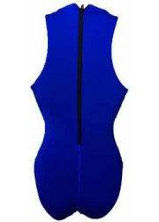 Swimsuit royal blue comfort water polo