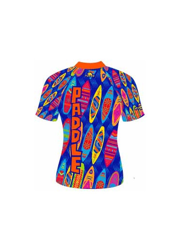 Lycra Paddle Manches Courtes Blu Flash (3 Semaines)