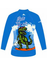 Lycra Paddle Enfant Manches Courtes Dino Waves (3 Semaines)