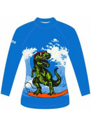 Lycra Soleil Enfant Manches Courtes Dino Waves (3 Semaines)