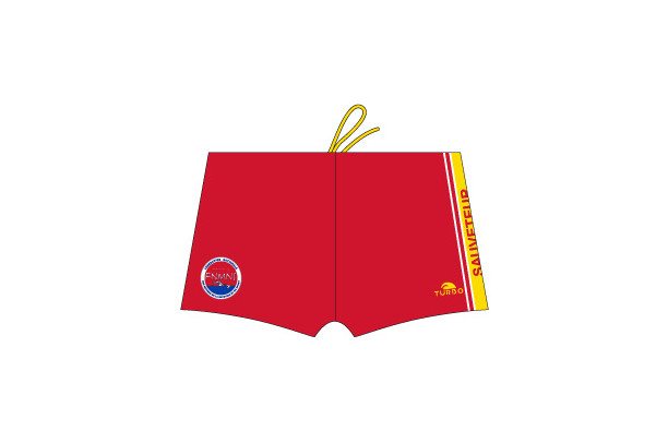 FNMNS Boxer Lifeguard Rouge (3 Semaines)