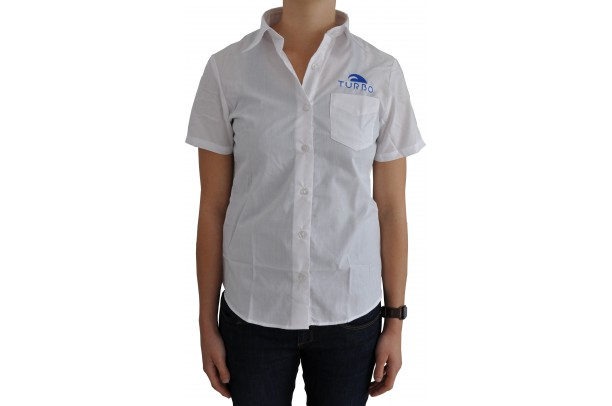 Short-Sleeved Shirt Woman