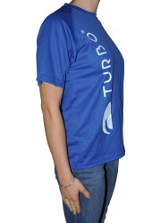 Tee-Shirt Turbo Bleu Royal