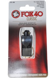 Whistle FOX 40 Black