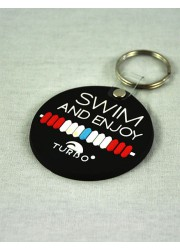 Porte Clefs Swim And Enjoy