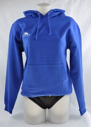 Pullover With Blue Hood